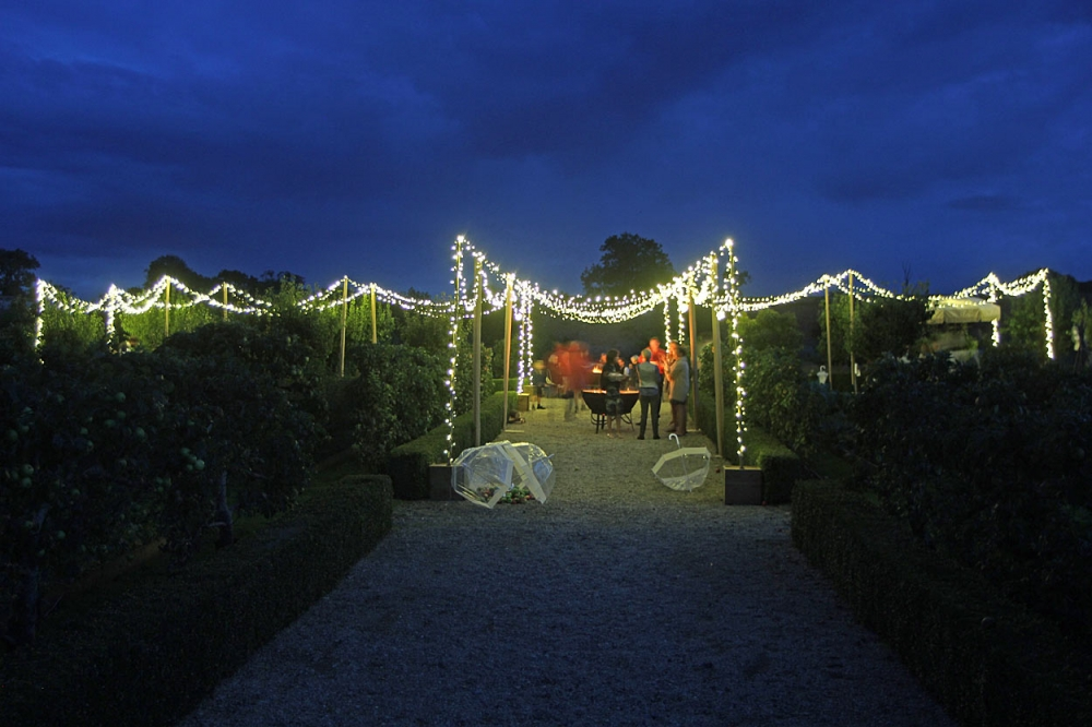 Exterior Fairy Light Canopy