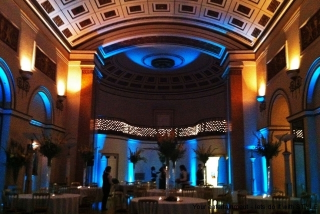 LED mood lighting for weddings and parties in London, Bristol, Bath, Somerset