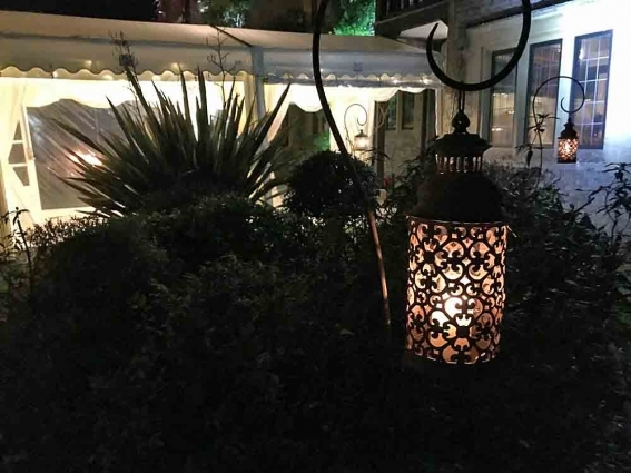 Our latest creation and purchase, custom made shepherds crooks and beautiful lanterns