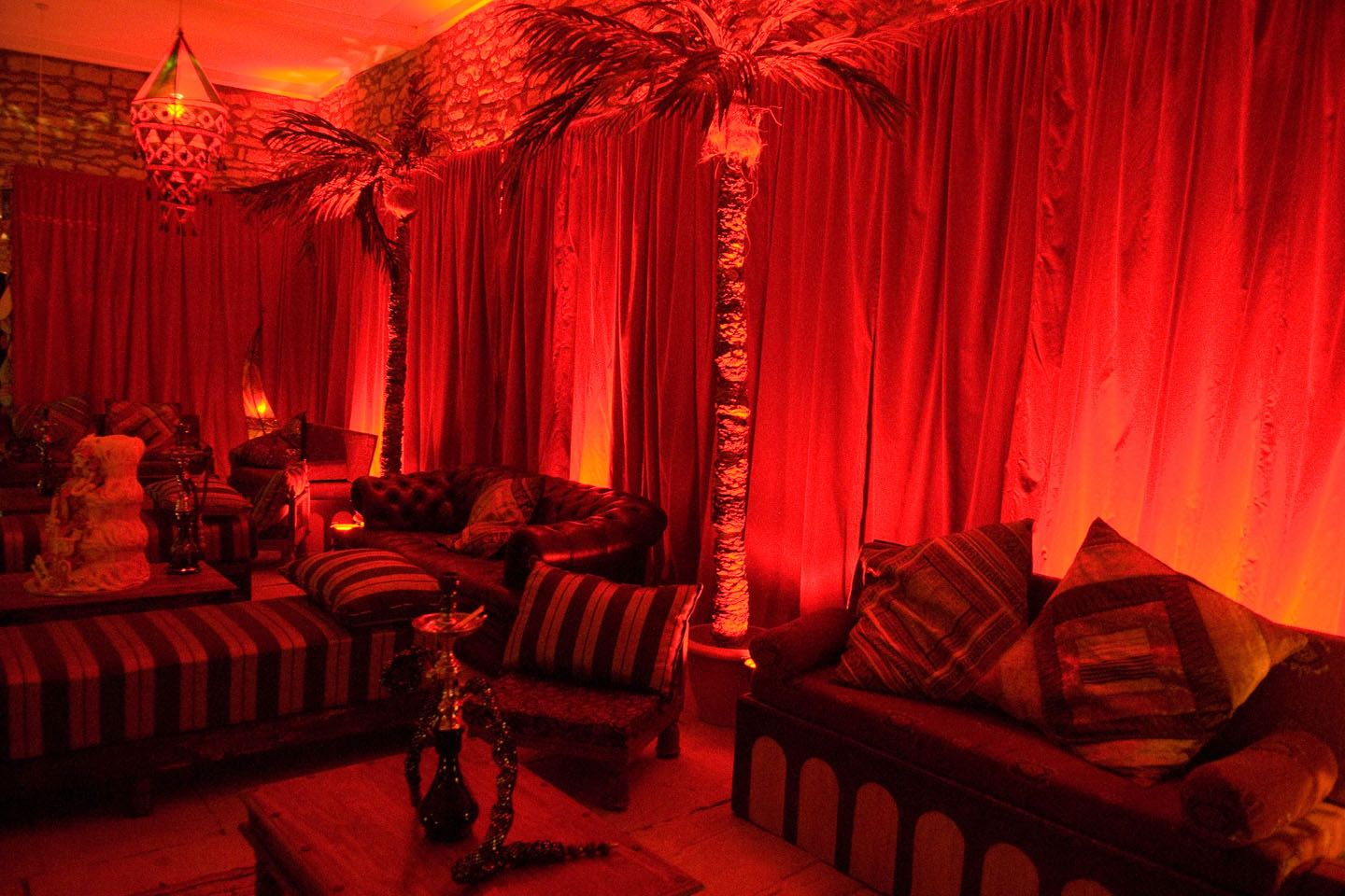 Image of a Moroccan Themed Venue