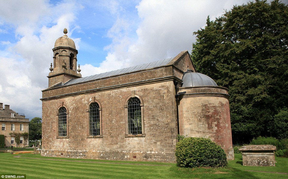 Image of the church at Babington House