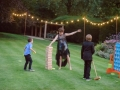 We hire garden games including Connect 4, Jenga, Limbo and Giant KerPlunk. Ria Mishall Photography