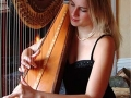 Hire a harpist for your wedding or party. Sounds lovely during a drinks reception.